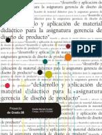 MATERIAL DIDACTICO MATERIA DISEÑO DE PRODUCTO