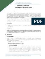 REDES DE APOYO TOPOGRÁFICO - INFORME