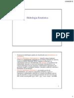 HA-Hidrologia Estatística-2013-1º