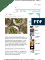 Ervas aromáticas - Um toque de saúde à refeição 2