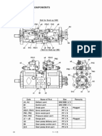 Sk200-6 Pump & Regulator Explaining