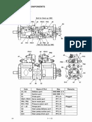 Sk200-6 Pump & Regulator Explaining | Piston | Pump on kobelco sk210lc, kobelco 200 specs, kobelco sk480, kobelco sk350,
