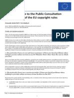 LIBER Public Copyright Consultation Response
