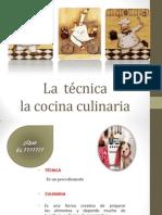 Tecnicas Culinarias-