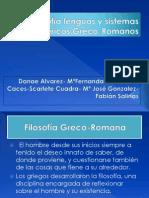 Filosofia Lenguas y Sistemas Numericos Grecoromanas