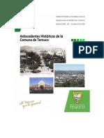 Antecedentes Históricos de Temuco