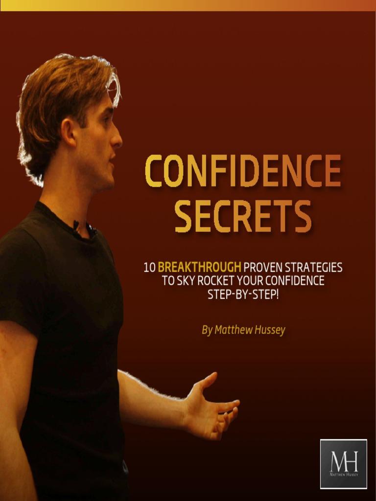 Confidence Secrets Matthew Hussey | Fear | Feeling