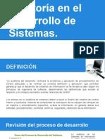 Auditoria Para El Desarrollo de Sistemas