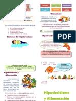 Pauta Alimentaria Hipotiroidismo