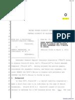 Order Granting FDIC Motion to Dismiss
