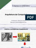 Arquitetura de Computadores_Introdução