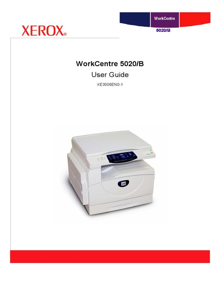 Xerox 5020 service manual download.