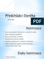 Laboratorní práce hominizace a sapientace