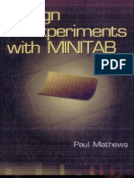Design of Experiments With MINITAB Escrito Por Paul G. Mathews