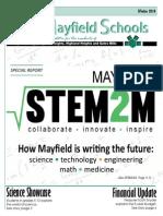 STEM2M Community Letter