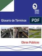 Glosario Obras Publicas