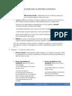 Metodologia Della Ricerca Sociale_Introduzione e Cap.1