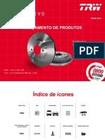Trw Discos de Freio 2013 Catalogo