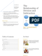 206416371 the Relationship Between Division and Subtraction