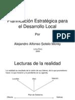 Planificaci n Estrat Gica Para El Desarrollo Local