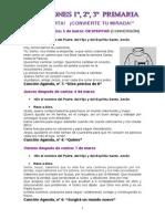 ORACIÓNS CORESMA 2014 -1º,2º,3º PRIMARIA-