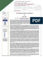 The Marriage of Wisdom and Method (Marco Pallis).pdf