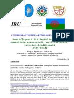 Info Conferinta Romi 600 Ani 08.04.2014 (1)