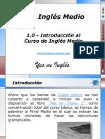 1.0 - Introducción al Curso de Inglés Medio