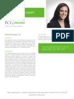 Michelle Mangan, J.D., PCG Education Subject Matter Expert