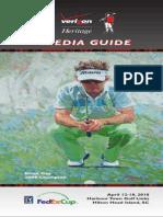 The Verizon Heritage 2010 Media Guide