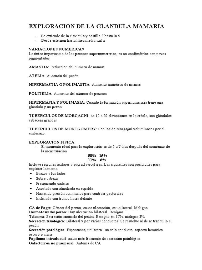 EXPLORACION DE LA GLANDULA MAMARIA.doc