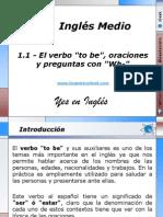 1.1 - El verbo to be, oraciones y preguntas con Wh-.pptx