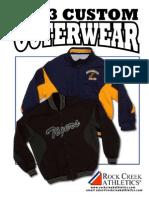 Rock Creek Athletics Outerwear 2013 outerwear catalog