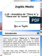 1.10 - Gramática de There is y There are