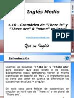1.10 - Gramática de There is y There are