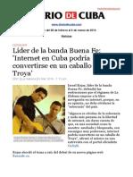 Boletín de Diario de Cuba | Del 28 de febrero al 6 de marzo de 2014