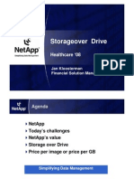 NetApp Storage on Demand by Jan Kloosterman, Financial Solutions Manager, NetApp