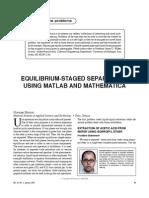 Equilibrium-Staged Separations, Binous (2007)