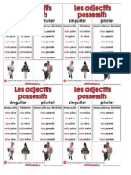 Adjectifs Possessifs Tableau