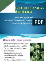 Kozmetikte kullanılan bitkiler - 3