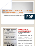 El Modelode Sustitucion de Importaciones