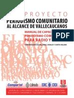 manual de capacitación para periodistas comunitarios en radio y prensa