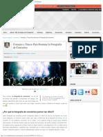 Consejos y Trucos Para Dominar la Fotografía de Conciertos _ Blog del Fotógrafo