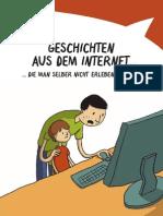 Broschüre «Geschichten aus dem Internet»