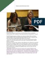 Students Study Irish Literature Abroad