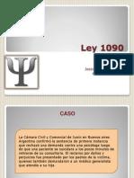 Ley 1090 (2)