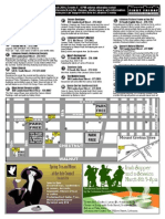 First Friday Lebanon Art Walk map