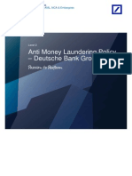 Deutsche Bank Group - Anti Money Laundering Policy
