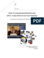 How to Change Background and Apply Video Effects to Your Webcam