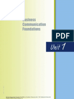 Business Communication Foundations